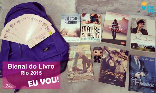 [Evento] Bienal do Livro - Rio de Janeiro (2015)