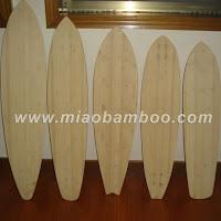 Bamboo Longboard Deck1
