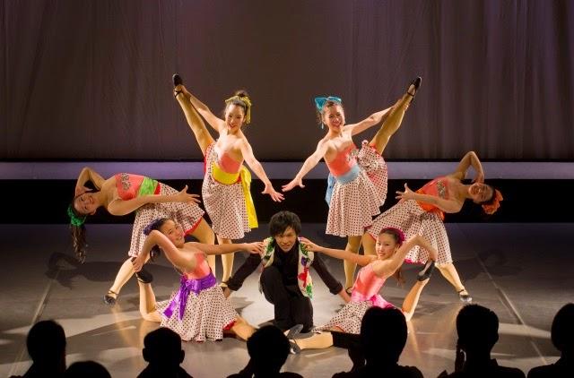 美味しい歌舞音楽舞台: 舞台写真...