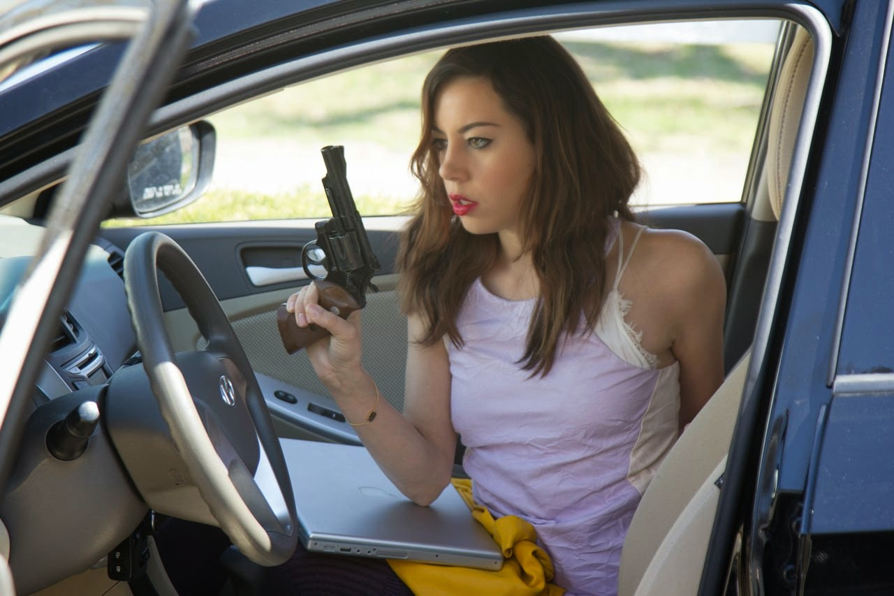 ned rifle aubrey plaza