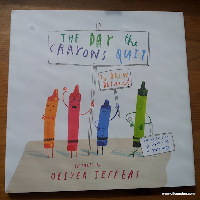 The Day the Crayons Quit - book review and giveaway