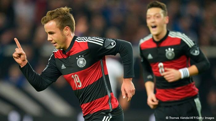 Jerman Away World Cup 2014