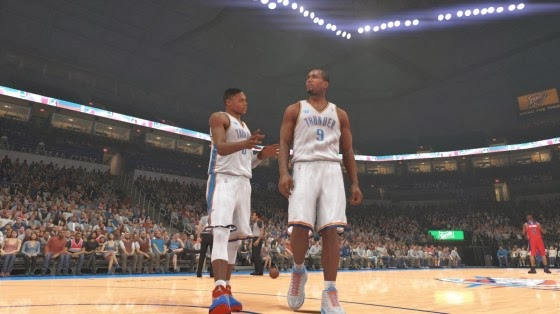 NBA 2k14 Player Reactions and Behaviour