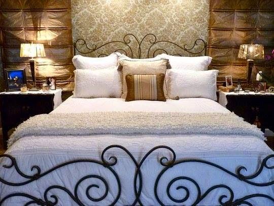 Dormitorios en forja cabeceras de hierro camas de metal - Camas de forja antiguas ...