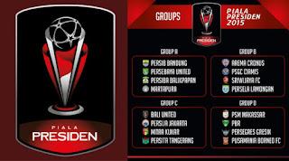 Jadwal Piala Presiden 2015