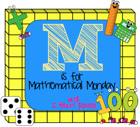 http://iheartrecess.blogspot.com/2014/01/mathematical-monday-freebie-linky-party.html