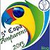 Definidos os dias e horários dos primeiros jogos da 5ª Copa Amparense