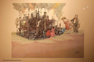 Ruhrgebiet, Umweltverschmutzung, Emissionen, schlechte Luft