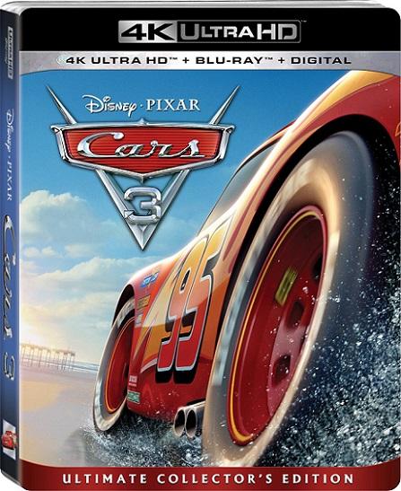 Cars 3 4K (2017) 2160p 4K UltraHD HDR BDRip 12GB mkv Dual Audio DTS-HD 7.1 ch