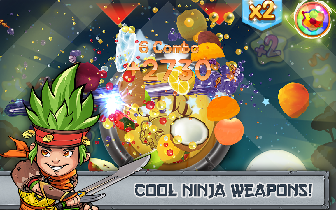 Fruit Ninja Champions Gameplay IOS / Android