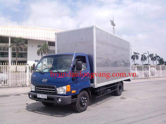 xe tải hyundai hdv450 thùng kín