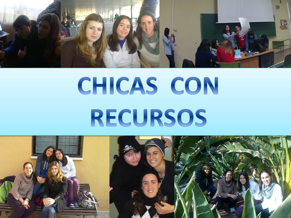 CHICAS CON RECURSOS