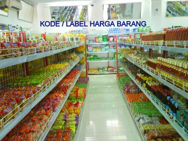 Kode Label Harga Barang Dagangan
