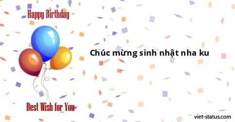 stt chúc sinh nhật