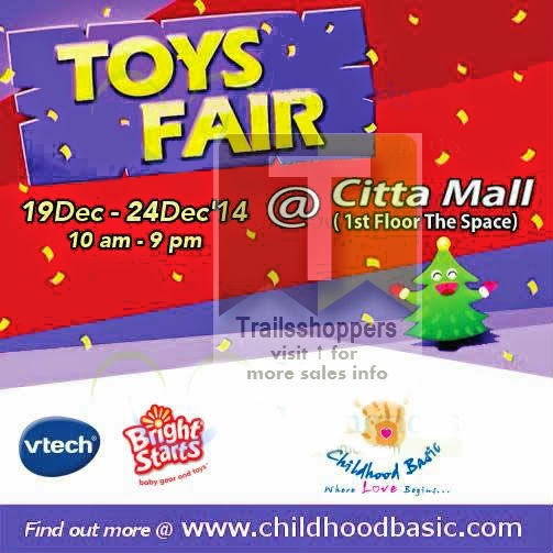 Kids Toys Fair Citta Mall