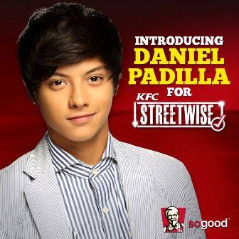 Daniel Padilla is KFC Streetwise newest endorser