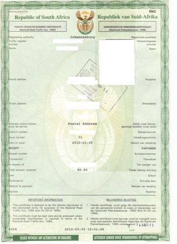Documents required to sell car  Lifehacker Your Certificate of Registration for your car will look like this  you will get a second  similar copy  from which you cut out