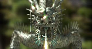 Imagenes de dragones Fuente dragon