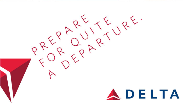 Airline Logos Starting With a Starting With d Delta Airlines