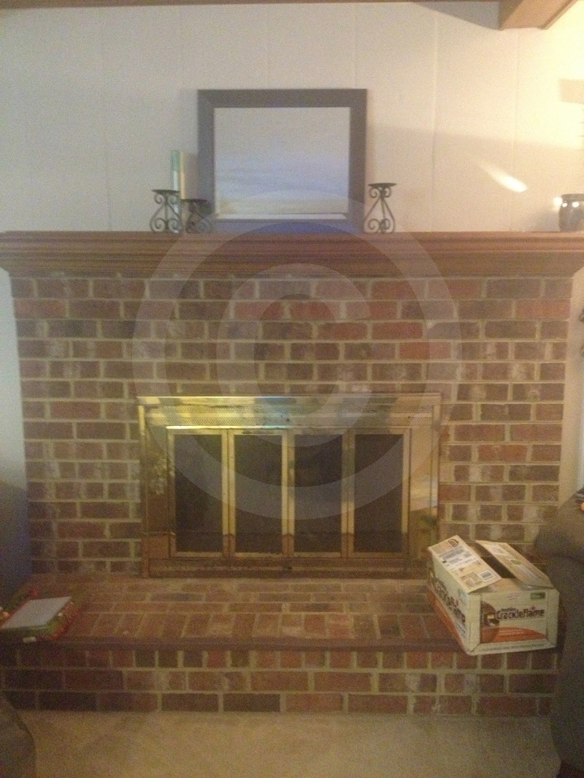 from ugly to enjoyable easy fireplace revamp