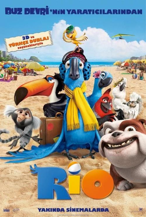 Rio 1 (2011) 720p Film indir