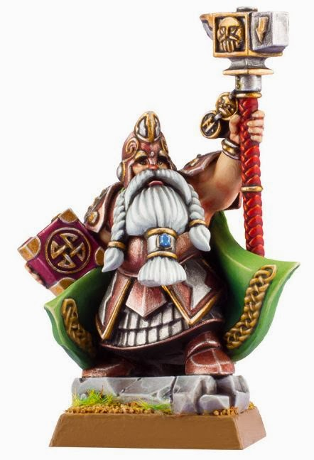 New Dwarfs Rune Lord miniature