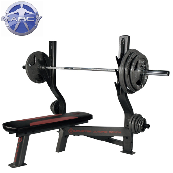 Pure Fitness And Sports Marcy Monster Olympic Weight Bench 140kg Olympic Weight Set Package