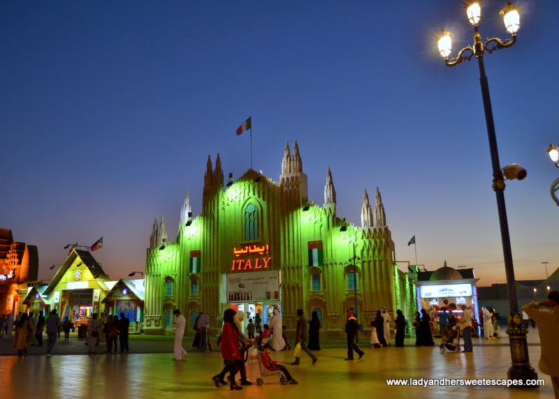 Italy Pavilion at the Global Village
