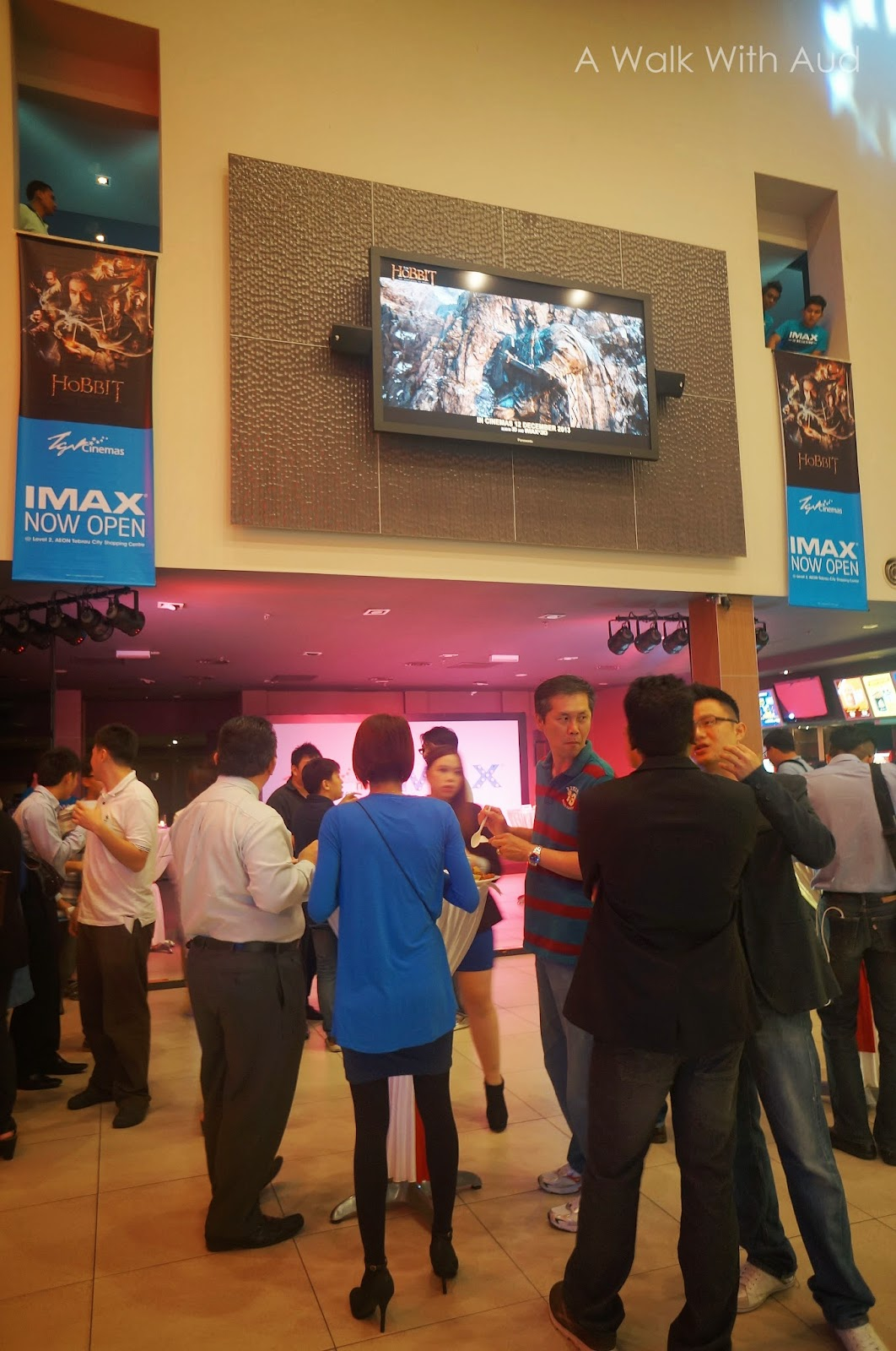 Cute first imax brought to you by tgv johor