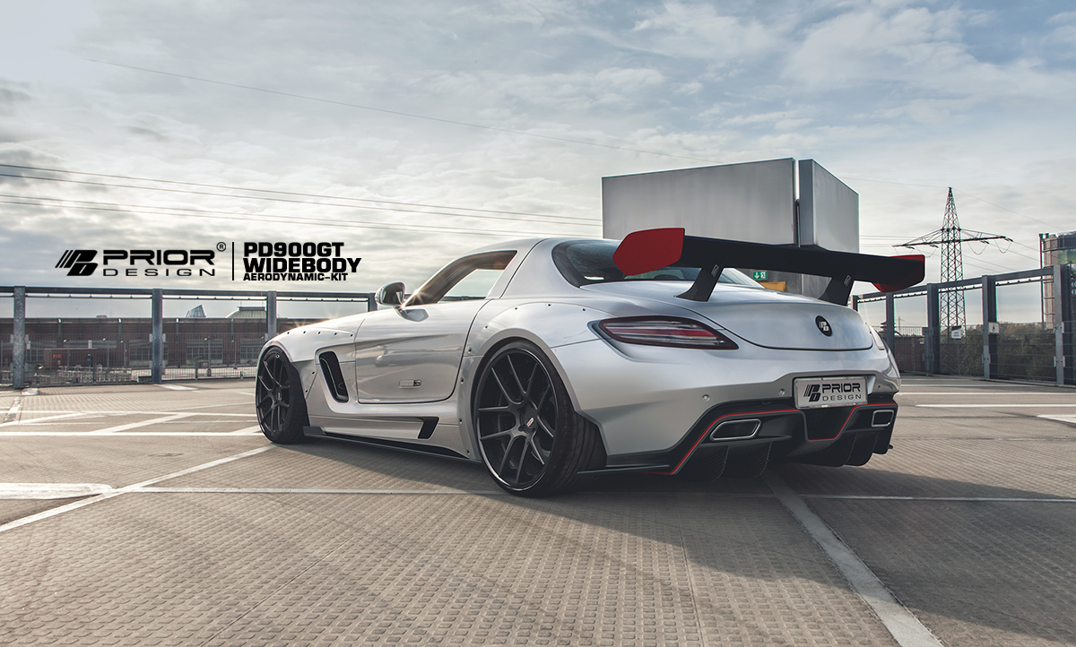 Make your mercedes benz sls amg look like a gt3 racer for 2015 mercedes benz sls amg