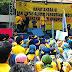 Mahasiswa turun ke jalan,menuntut pemerintahan