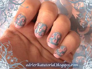 diseño,para,las,uñas,azul,y,rosa