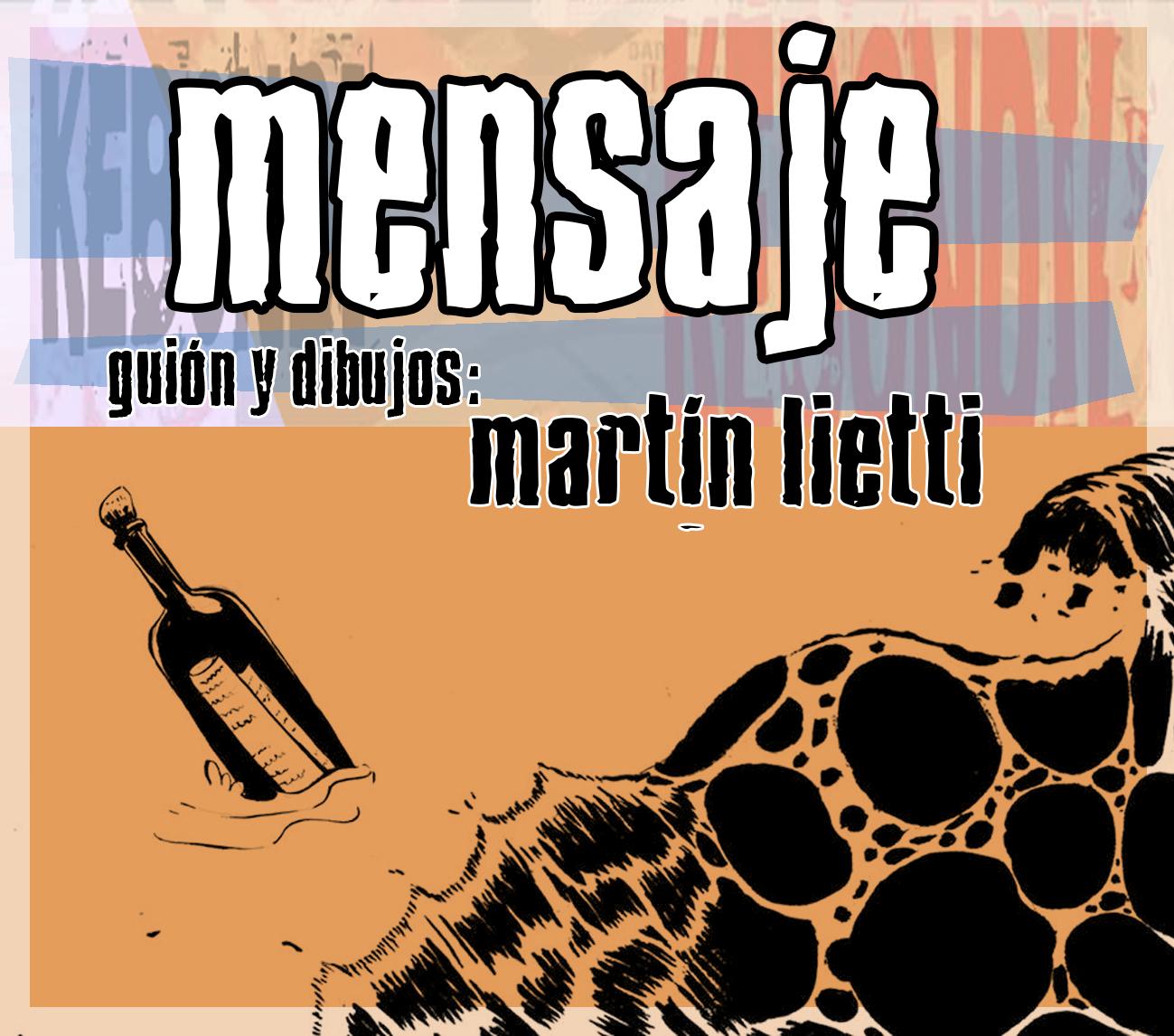 """Mensaje"" Martín Lietti"