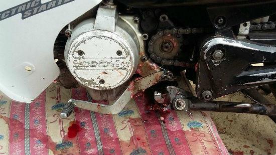 Budak 2 Tahun Maut, Kepala Tertusuk Besi Pemijak Kaki Motorsikal