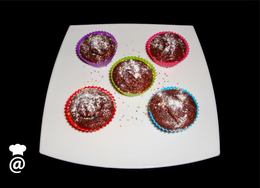 Recetas para Adelgazar: Magdalenas integrales de chocolate