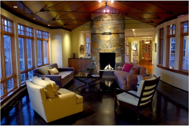 Arts and crafts living room design ideas for Arts and crafts living room ideas