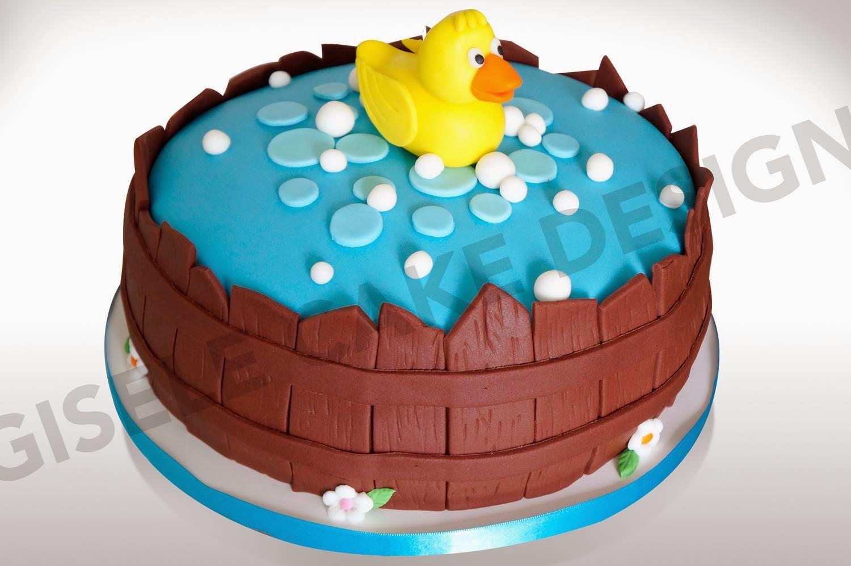 Favoritos Gisele Cake Design: Bolo Patinho XJ95