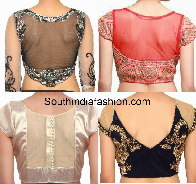 Blouse Designs In Net 104