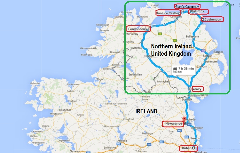 Annie And Richs Travel Adventures Ireland Northern Road Trip - Ireland trip