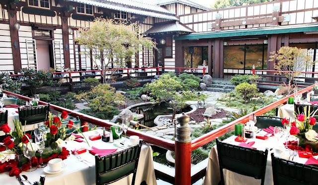 Restaurante Yamashiro em Los Angeles