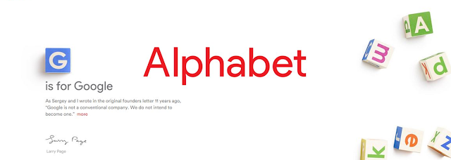 Google steps down, Alphabet takes over