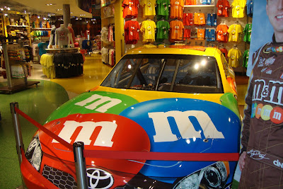 Loja da M&M, no Florida Mall