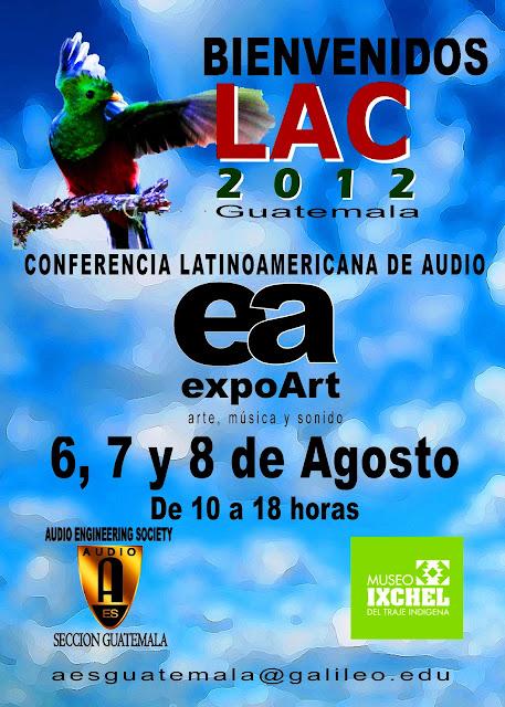 Conferencia Latinoamericana de Audio 2012