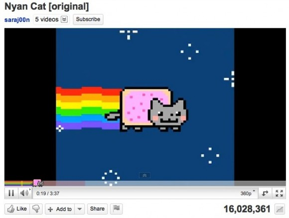 nyan cat loading bar youtube