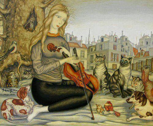 """""""Há duas maneiras de me refugiar ...Musica e animais...."""