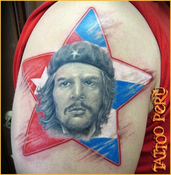 las mejores Fotos de Tatuajes, Diseños de Tatuajes y variedad de Tattoos. También encontrarás Catálogos de Tatuajes y Tribales 01_estrella_con_la_bandera_de_cuba