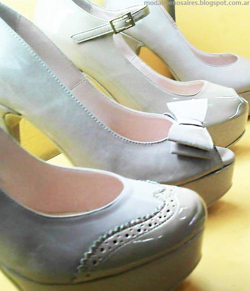 Adelanto moda zapatos Micheluzzi otoño invierno 2014.
