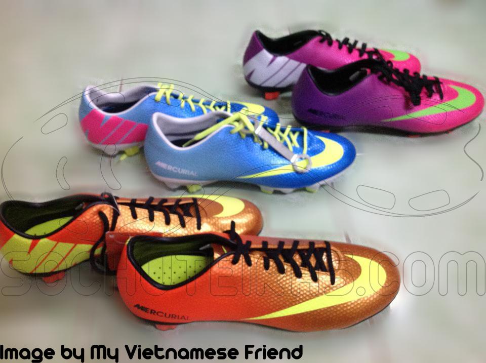 Nike mercurial vapor 9 boots leaked