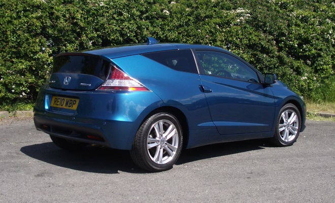 2010 Honda CR-Z rear view