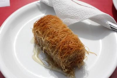 Kadaif  dolce tipico albanese